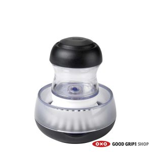 OXO Handborstel met Zeepdispenser en houder