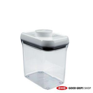 OXO Voorraadbus POP Container Rechthoek 1,4 liter