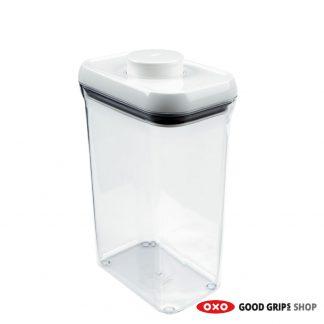 OXO Voorraadbus POP Container Rechthoek 2,3 liter