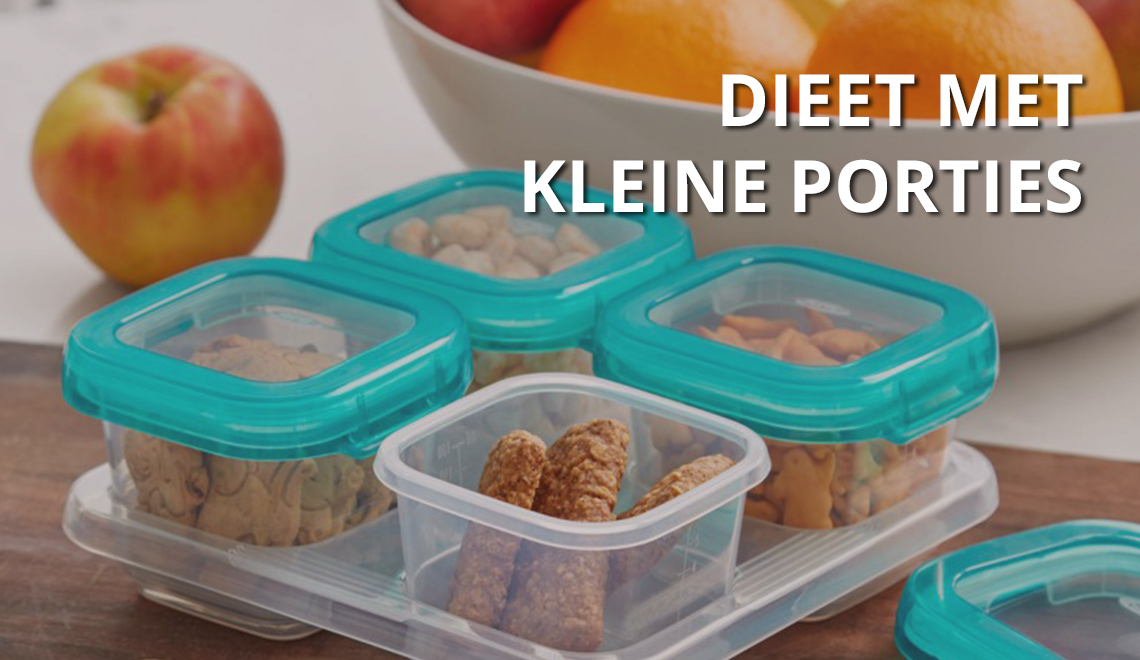Dieet met kleine porties