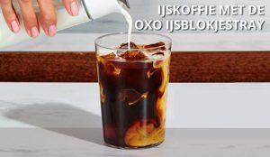 Ijsblokjestray ijskoffie