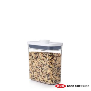 OXO POP Container 2.0 Smal Rechthoek Laag 1,1 liter