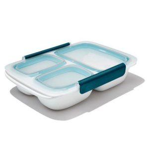 OXO Prep & Go 3-vaks Lunchbox 970 ml