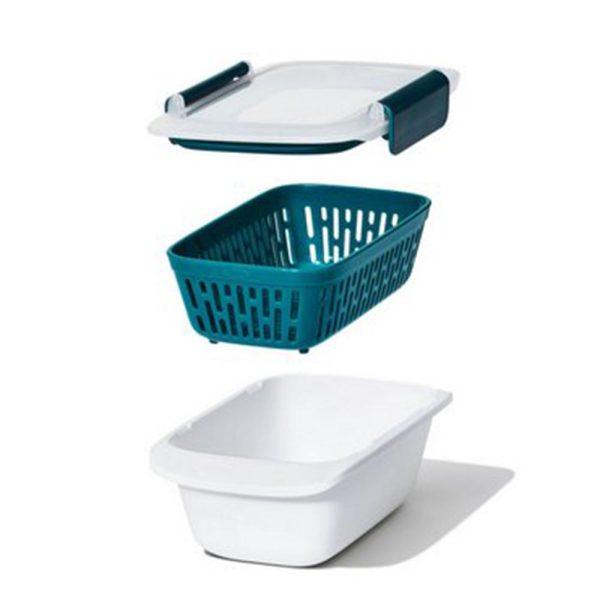 OXO Prep & Go Lunchbox met vergiet