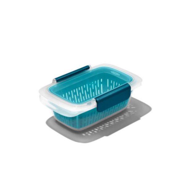 OXO Prep & Go Lunchbox met vergiet 450 ml