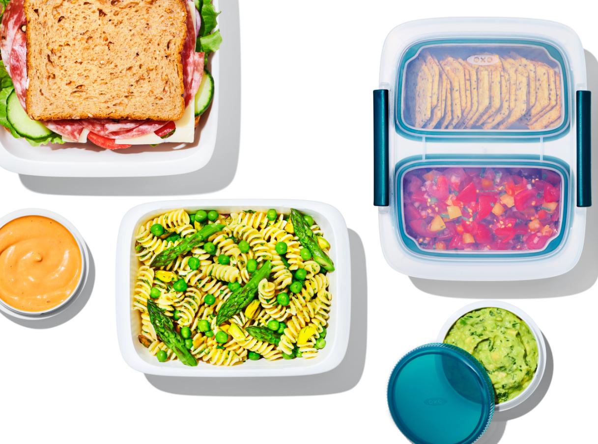 OXO Prep & Go collectie lunchboxen