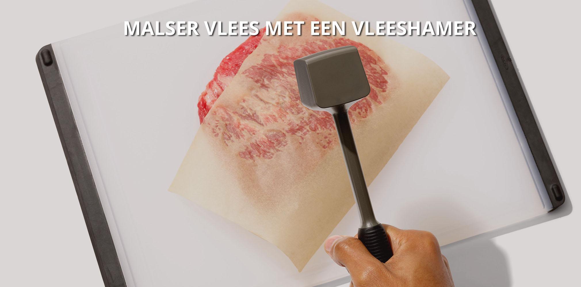 OXO Vleeshamer voor malser vlees