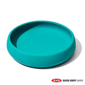 OXO siliconen kinderservies teal