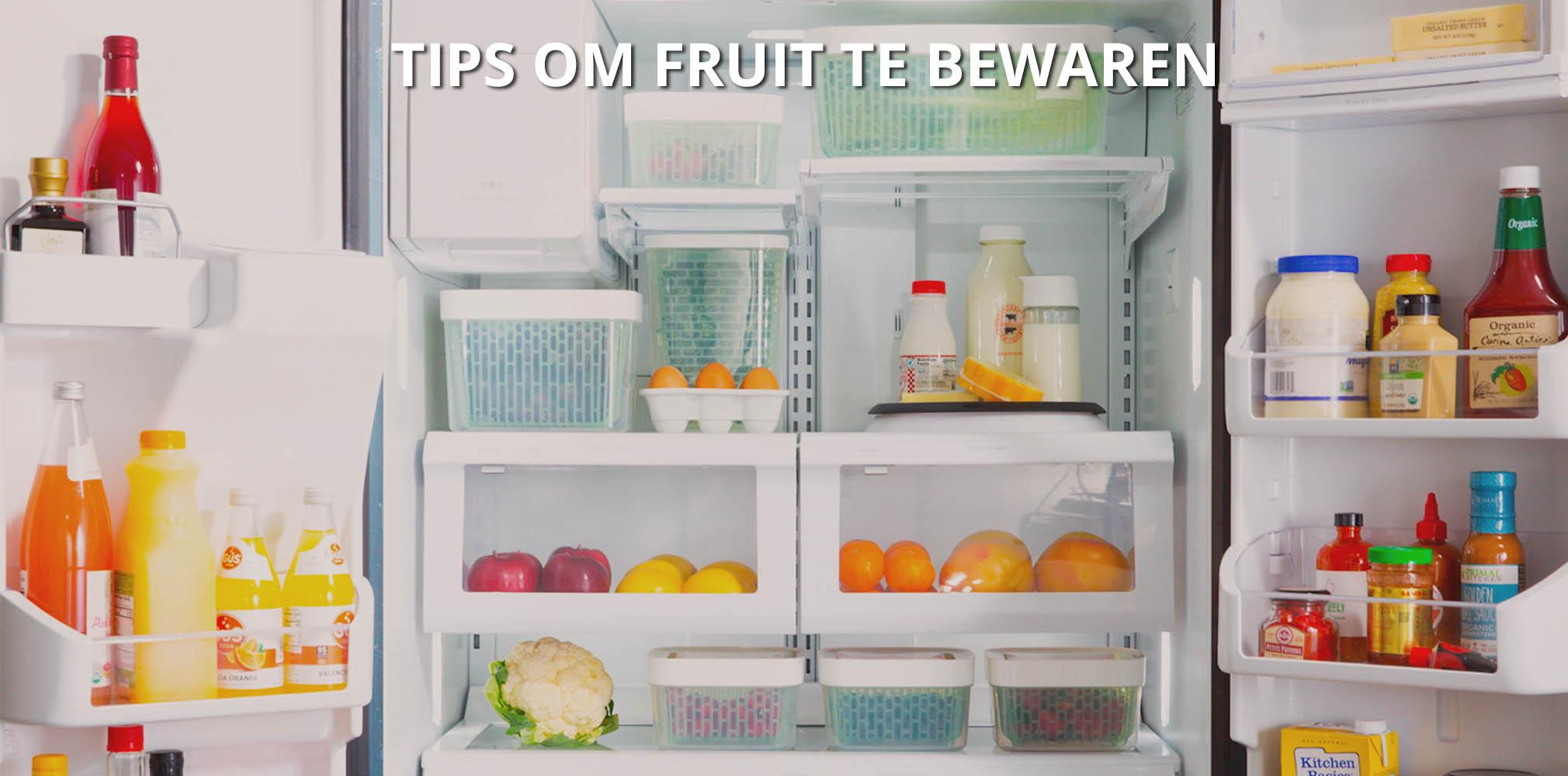 OXO tips om fruit te bewaren