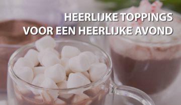 Zelfgemaakte toppings voor je warme chocolademelk