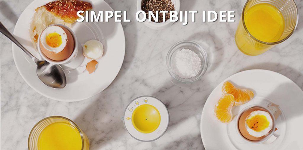 Simpel ontbijt idee van oxo good grips shop