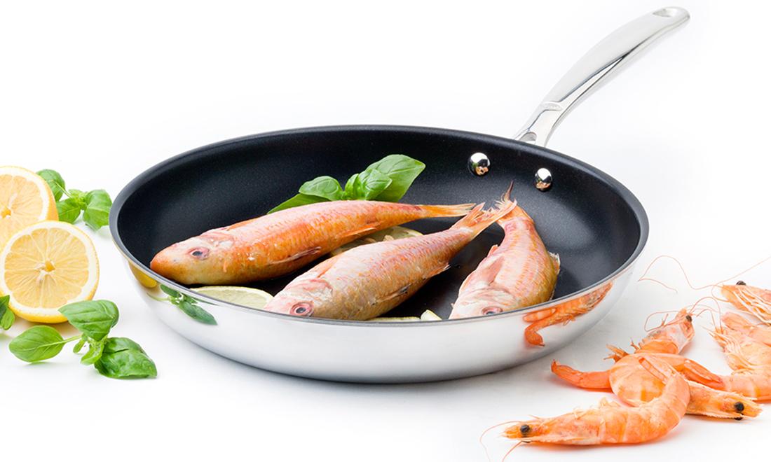 Koekenpan met levenslange garantie