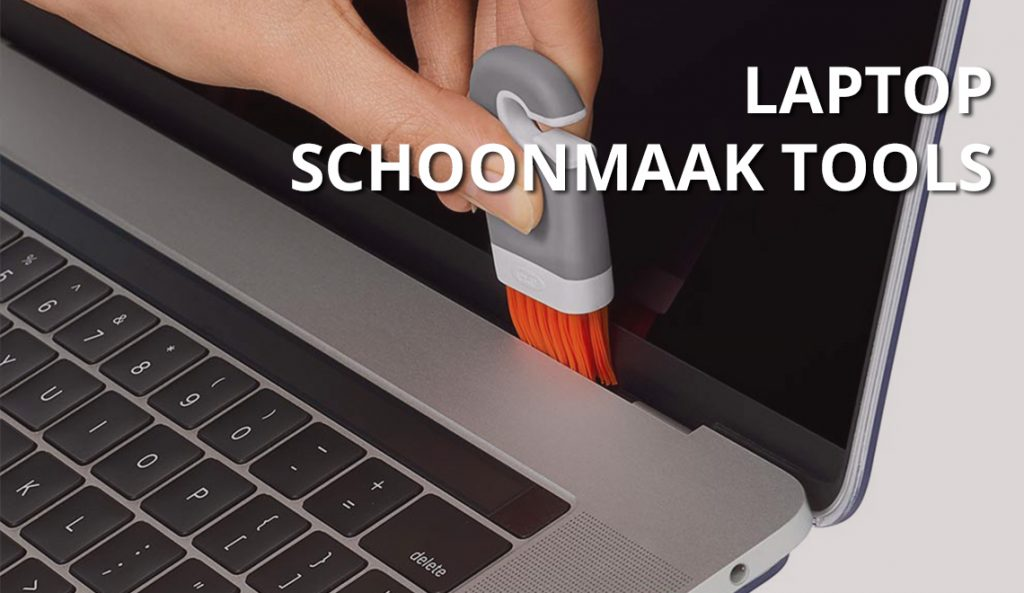 Laptop schoonmaken