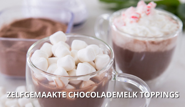 chocolademelk-toppings