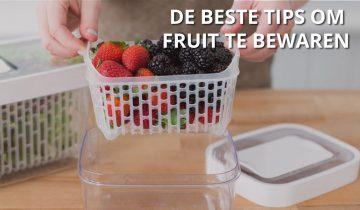 Zo houd je fruit lang vers