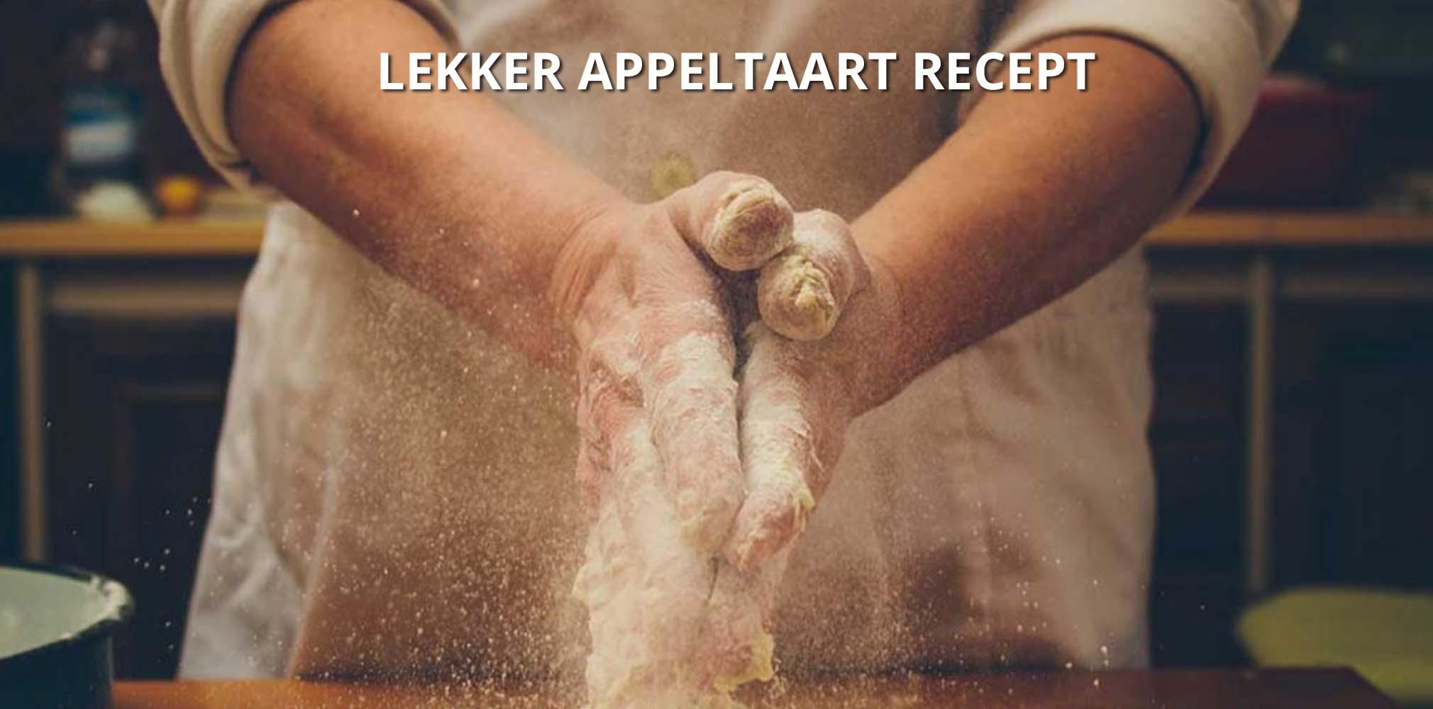 lekker appeltaart recept oxo good grips shop
