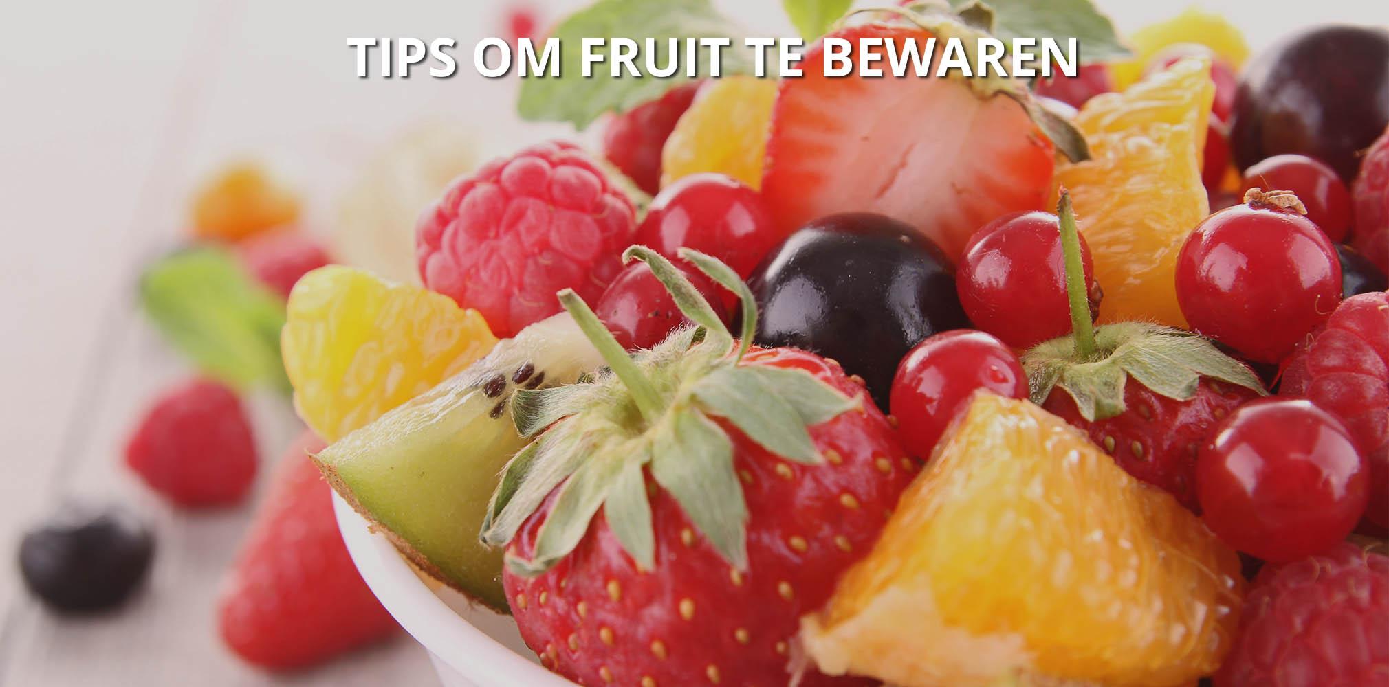 oxo 10 tips om fruit te bewaren