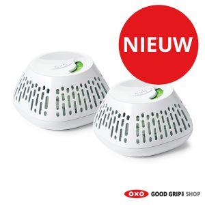 OXO GreenSaver 360° voor de koelkastlade (2 stuks)