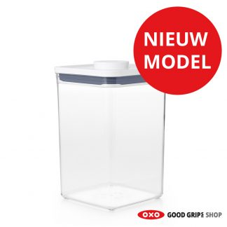 oxo-pop-container-2-0-groot-vierkant-medium-4-2-liter-nieuw