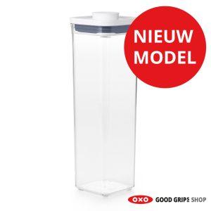 oxo-pop-container-2-0-klein-vierkant-hoog-2-1-liter-nieuw