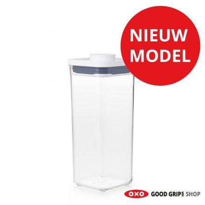 oxo-pop-container-2-0-klein-vierkant-medium-1-6-liter-nieuw