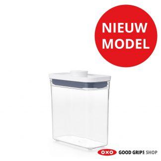 oxo-pop-container-2-0-smal-rechthoek-laag-1-1-liter-nieuw