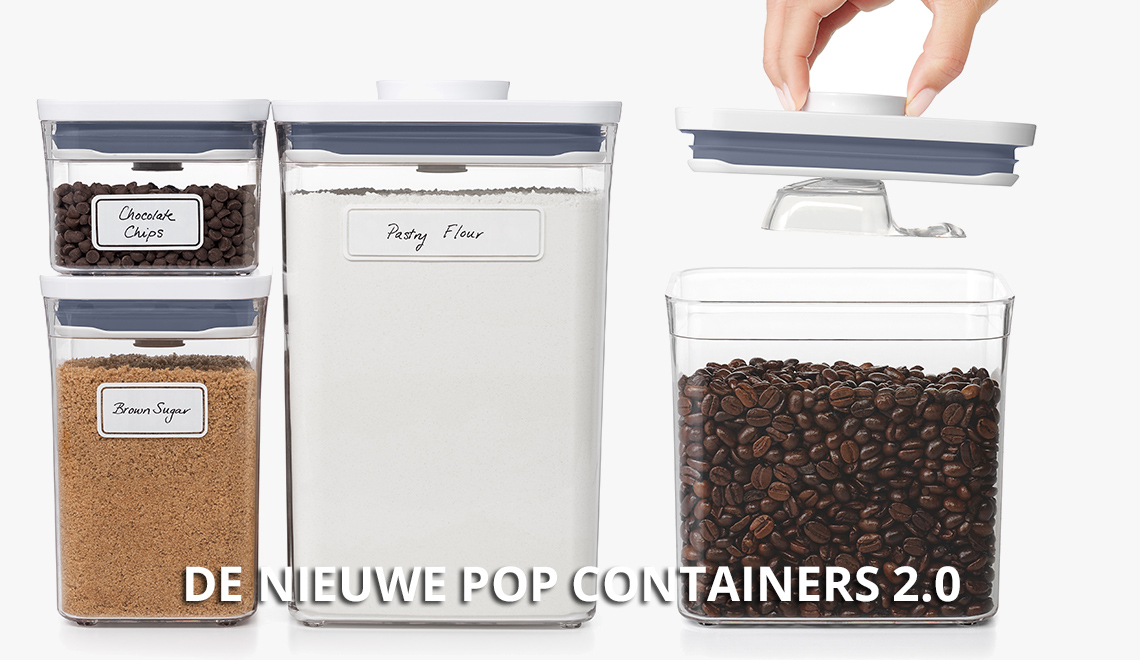 Nieuw! De OXO POP Container 2.0